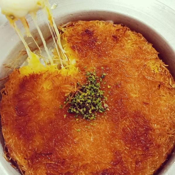 Cheese Kunafe